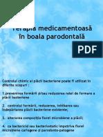 Terapia Medicamentoasa in Boala Parodontala