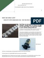 What are swirl flaps? | O.G.S. Mechanics LTD