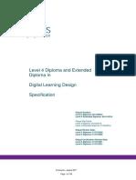 Digital Learning Design Level 4 Spec