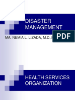 Disaster Management - Health Services Org.