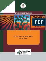 Politica Alimentaria en México