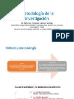Unidad 3 Metodología de La Investigación