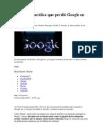 La Batalla Jurídica Que Perdió Google en Colombia