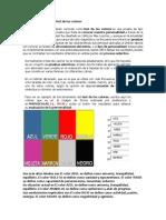 Test de Max Lüscher o Test de Los Colores