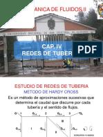 CLASE IV Redes de Tuberias