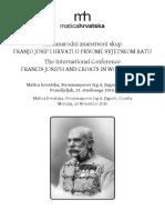 Franjo Josip - Program