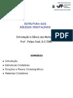 UFF_ICM 2017 v2 - Aula3 - Estrutura dos Sólidos Cristalinos.pdf