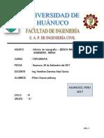 Informe - Puntos Bm