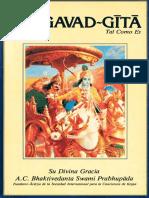 Bhagavad-gita Tal Como Es 1978 Condensed