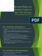 Revised Rules on Administrative Cases in the Civil Service