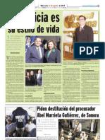 Prensa Hispana Apoya Al Candidato de Hispano