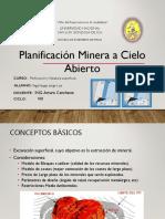 Trabajo de Perforacion y Voladura....Planificacion Minera a Cielo Abierto