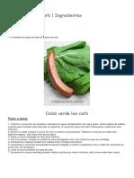 Sopa Caldo Verde Low Carb