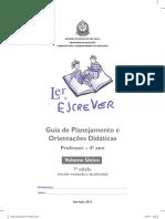 Guia de Planejamento e Orientações Didáticas Do Professor – 4º Ano