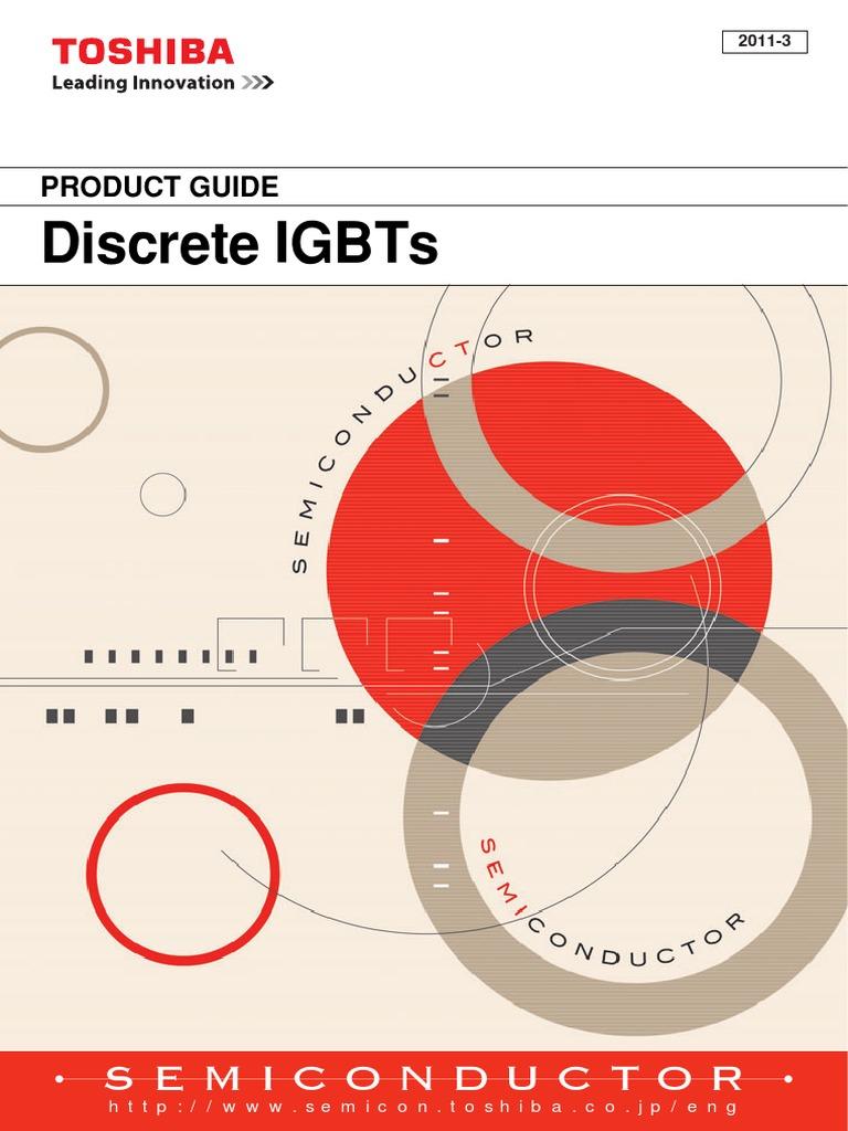 Gt30j124 Toshiba IGBT discreti to-220f