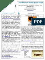 Carrabelle Chamber of Commerce E-newsletter for October 13th