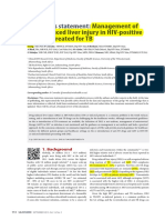 Consensus Statement_Management of Drug-Induced Liver Injury in HIV Positive Pts Treated for TB