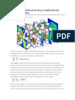 Factor de Turbulencia de Gas y Coeficiente de Flujo No