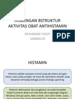 Hubungan Bstruktur Aktivitas Obat Antihistamin