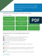 Sdwan Requirements Checklist