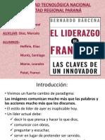 El Liderazgo de Francisco Presentacion Libro