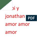 Gabi y jonathan amor amor  amor.docx