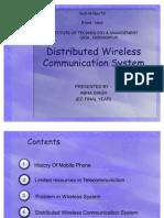 Distributed Wireless Communication System - Copy