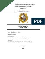 Monografia Ontologia