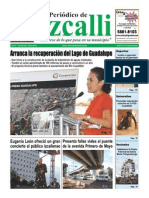 Periodico de Izcalli, Ed. 611, Agosto 2010