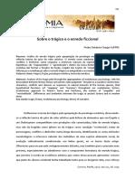DOLABELA - Sobre o Trágico e o Enredo Ficcional