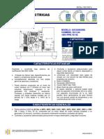 Datos tecnicos Planta 20 kw 25 kva