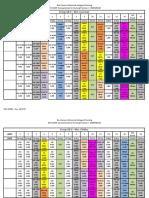 3104 schedule template