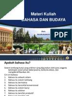 s2 Matakuliah Bahasa Dan Budaya