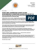 Slidin' Dirty, Schenectady County to host Bloktoberfest on Saturday, Oct. 21