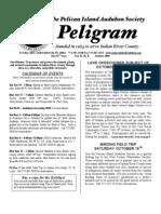 October 2005 Peligram Newsletter Pelican Island Audubon Society