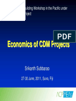 1.4 Economics Cdm Projects Srikanth