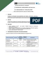 Bases de Contratación CAS - Desde PC N° 032 hasta PC N° 047 año 2017
