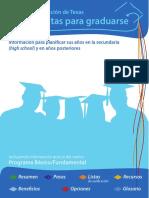 graduation requirements spanish