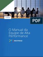 eBook - O Manual Da Equipe de Alta Performance