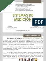 Sistemas de Medicion