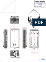 Vivitek DU7090Z Product Drawing 11042015