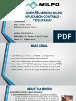 Compañia Minera Milpo Implicancia Contable -Tributaria