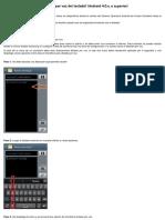 Cómo Usar La Opción de Dictado Por Voz Del Teclado_ (Android 4.0.x, o Superior)