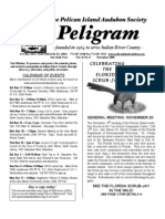 November 2006 Peligram Newsletter Pelican Island Audubon Society