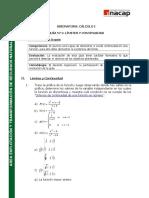 Guía Nº2 Límites y Continuidad