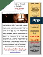 November 2017 LVFA Flyer