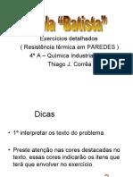 Resist_ncia T_rmica Em PAREDES