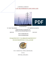 64271484 Protection of Transmission Line Using GPS