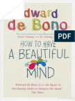 Edward de Bono How to Have a Beautiful Mind.epub