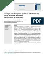 2014 Tecnologías interactivas para el aprendizaje en fisioterapia, los mandos electrónicos de respuesta.pdf